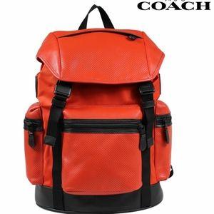 Coach Trek Pack Backpack - Carmine Orange